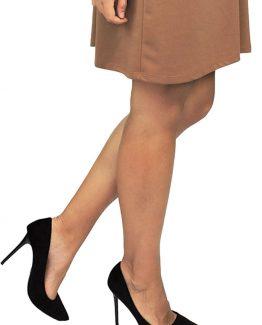 ΜΑΥΡΕΣ ΨΗΛΟΤΑΚΟΥΝΕΣ ΓΟΒΕΣ Γόβες με 10εκ. τακούνι σε μαύρο χρώμα. Ένα βασικό γυναικείο παπούτσι που δεν πρέπει να λείπει από την ντουλάπα μας καθώς μπορεί να συνδυαστεί με πολλά γυναικεία ρούχα και για όλες τις ώρες. Για μια casual εμφάνιση συνδυάστε τις ψηλοτάκουνες γόβες με ένα τζιν παντελόνι σε συνδυασμό με ένα t-shirt και ολοκληρώστε το σύνολό σας με μια πλεκτή μακριά ζακέτα, ενώ από τσάντες επιλέξτε μια Oversized. Για μια εναλλακτική εμφάνιση φορέστε τις γόβες σας με ένα μίνι βελουτέ φόρεμα σε συνδυασμό με ένα μακρύ παλτό για πανωφόρι και για να ολοκληρώσετε το σύνολό σας διαλέξτε μια τσάντα μικρή που κρεμιέται.