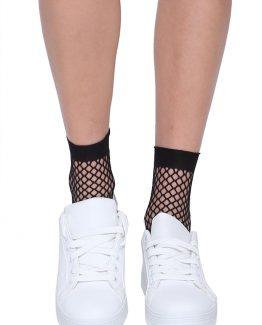 ΑΘΛΗΤΙΚΑ ΠΑΠΟΥΤΣΙΑ ΜΕ ΛΕΠΤΟΜΕΡΕΙΑ Παπούτσια Sneakers Λευκά, άνετα, με ασημένιο glitter λεπτομέρεια στο πίσω μέρος. Ένα βασικό γυναικείο παπούτσι που δεν πρέπει να λείπει από την ντουλάπα μας καθώς μπορεί να συνδυαστεί με πολλά γυναικεία ρούχα και για όλες τις ώρες. Για μια casual εμφάνιση συνδυάστε τα sneakers σας με ένα τζιν παντελόνι σε συνδυασμό με ένα t-shirt και ολοκληρώστε το σύνολό σας με μια πλεκτή μακριά ζακέτα, ενώ από τσάντες επιλέξτε μια Oversized. Για μια εναλλακτική εμφάνιση φορέστε τα Παπούτσια Sneakers Λευκά με μια κοντή φούστα σε συνδυασμό με ένα καρώ πουκάμισο από πάνω και για πανωφόρι επιλέξτε ένα μακρύ παλτό και για να ολοκληρώσετε το σύνολό σας διαλέξτε μια τσάντα μικρή που κρεμιέται.