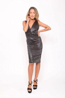 ΦόρεμαΕξώπλατο Σε Μαύρο χρώμα,σε ελαστικό ύφασμα.